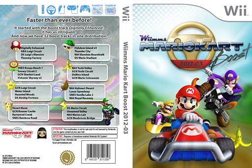 Wiimms MKW Boost 2012-03.ntsc CUSTOM cover (RMCE15)