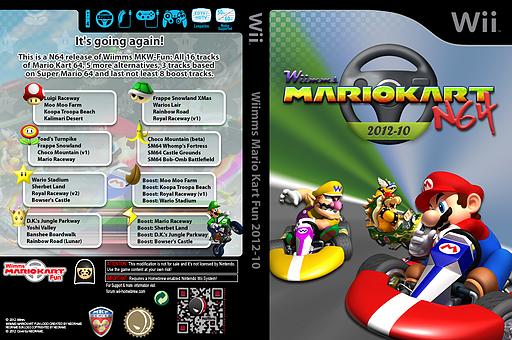 Wiimms MKW N64 2012-10.ntsc CUSTOM cover (RMCE18)