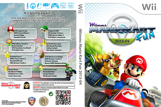 Wiimms MKW Fun 2013-04.ntsc CUSTOM cover (RMCE20)
