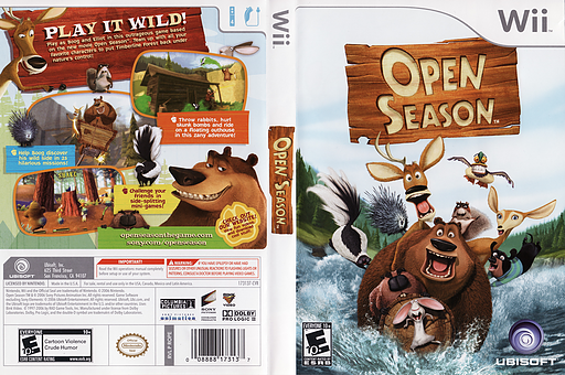 Open Season Wii cover (ROPE41)