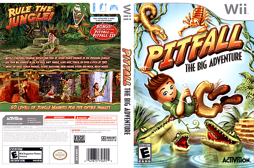 Pitfall: The Big Adventure Wii cover (RPFE52)