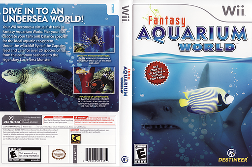 Fantasy Aquarium World Wii cover (RQYENR)