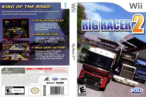 Rig Racer 2 Wii cover (RR2ENR)