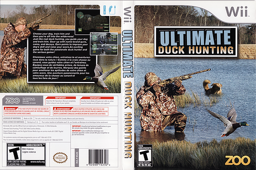 Ultimate Duck Hunting Wii cover (RS2E20)