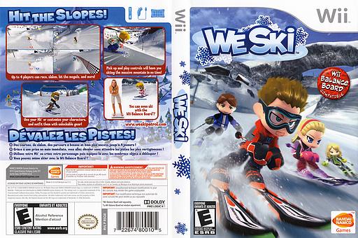 We Ski Wii cover (RSQEAF)