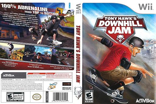 Tony Hawk's Downhill Jam Wii cover (RTHE52)