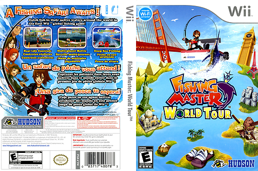 Fishing Master: World Tour Wii cover (RTLE18)