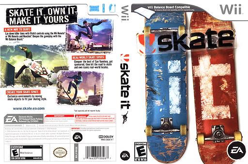 Skate It Wii cover (RVSE69)