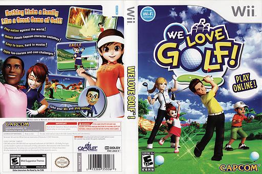 We Love Golf! Wii cover (RWGE08)