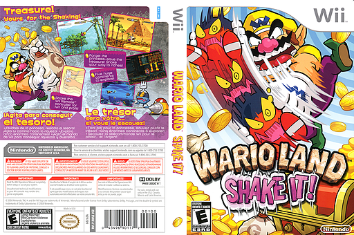 Wario Land: Shake It! Wii cover (RWLE01)