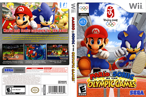 Mario & Sonic at the Olympic Games Wii cover (RWSE8P)