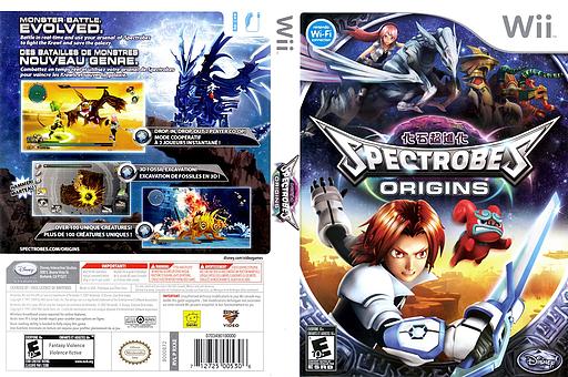 Spectrobes: Origins Wii cover (RXXE4Q)