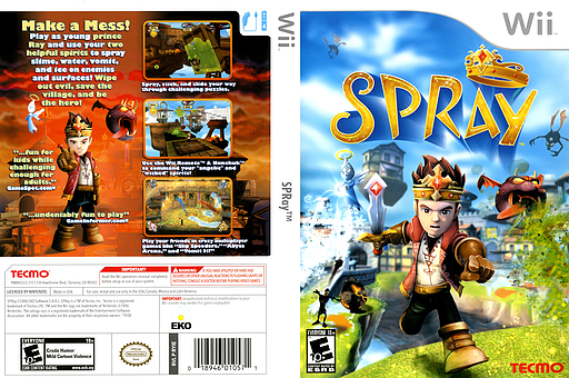 SPRay Wii cover (RYIE9B)