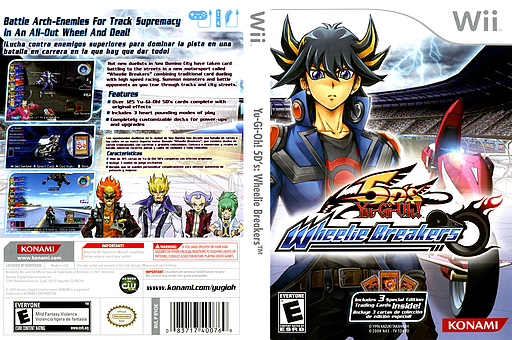 Yu-Gi-Oh! 5D's: Wheelie Breakers Wii cover (RYOEA4)