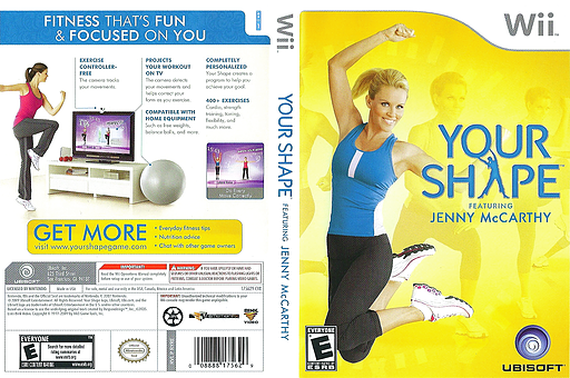 Your Shape Wii cover (RYRE41)