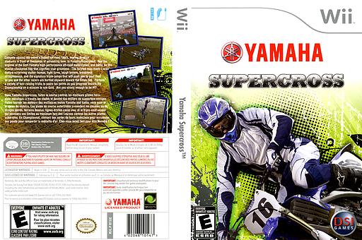 Yamaha Supercross Wii cover (RYXE20)