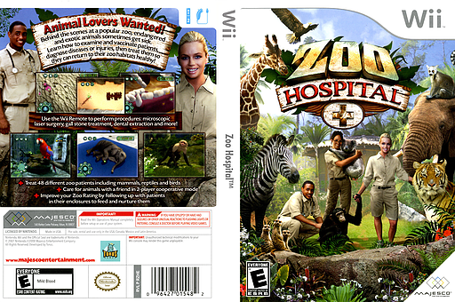 Zoo Hospital Wii cover (RZHE5G)