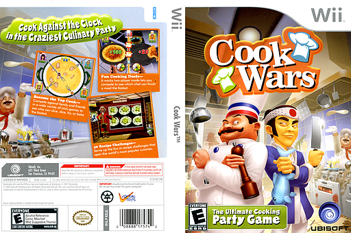 Cook Wars Wii cover (RZLE41)