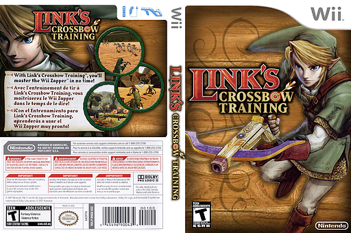 Link's Crossbow Training Wii cover (RZPE01)