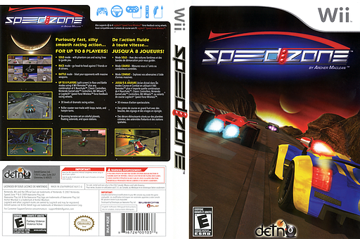 Speed Zone Wii cover (RZSEGJ)