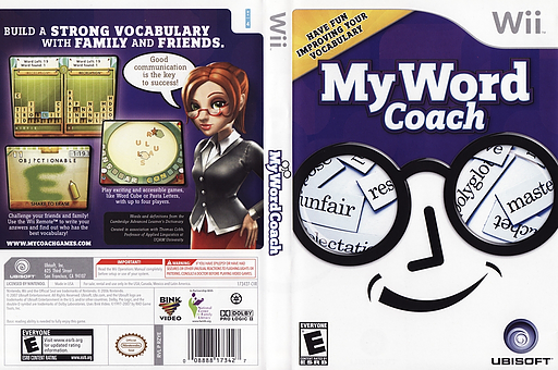 My Word Coach Wii cover (RZYE41)