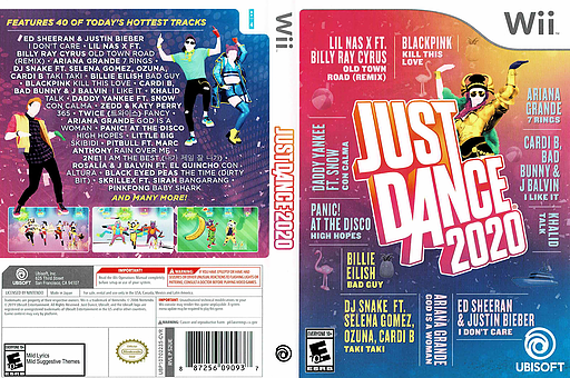Just Dance 2020 Wii cover (S2UE41)