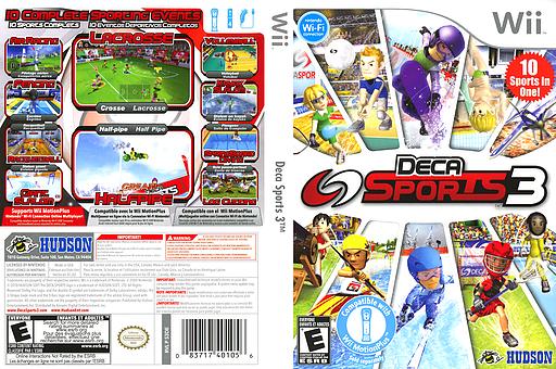 Deca Sports 3 Wii cover (S3DE18)