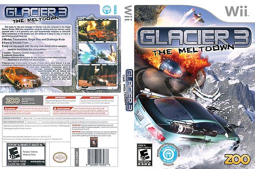Glacier 3: The Meltdown Wii cover (S3GE20)