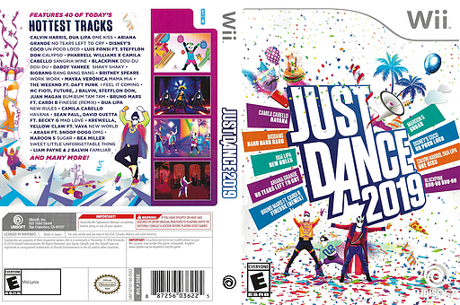 Just Dance 2019 Wii cover (S5EE41)