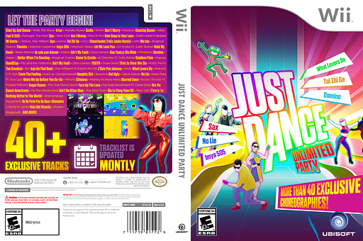 Just Dance Unlimited Party CUSTOM cover (S5UE41)