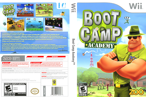 Boot Camp Academy Wii cover (SAYE20)