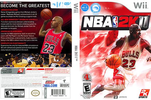 NBA 2K11 Wii cover (SB5E54)