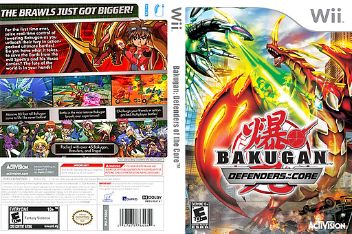 Bakugan: Defenders of the Core Wii cover (SB6E52)