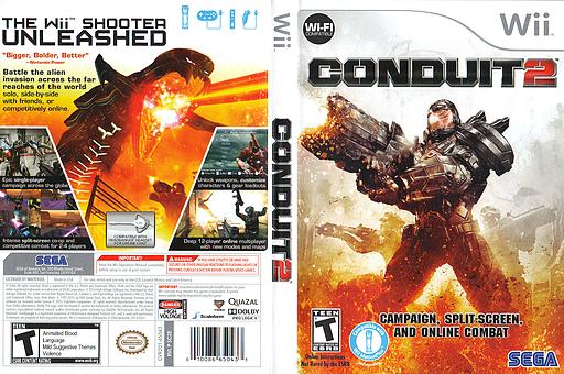 Conduit 2 Wii cover (SC2E8P)