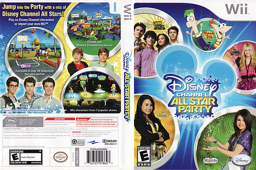 Disney Channel: All Star Party Wii cover (SDGE4Q)