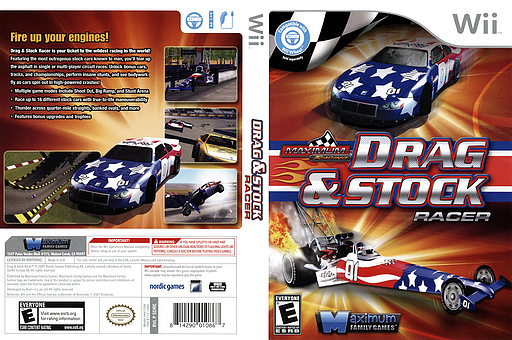 Maximum Racing: Drag & Stock Racer Wii cover (SDREYG)
