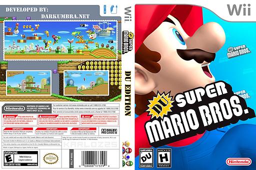 DU Super Mario Bros.:DU Edition CUSTOM cover (SDUEO1)