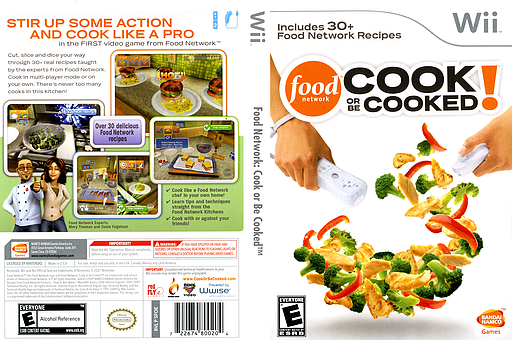 Sfoeaf food network cook or be cooked food network cook or be cooked wii cover sfoeaf forumfinder Choice Image