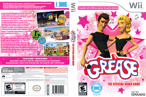 Grease Wii cover (SGREGT)
