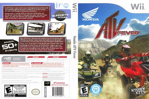 Honda ATV Fever Wii cover (SH7ESZ)