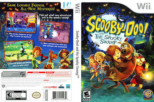 Sj2ewr Scooby Doo And The Spooky Swamp