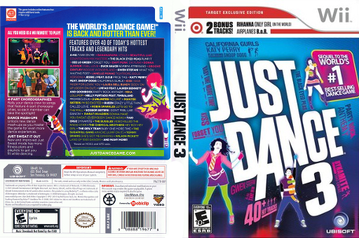 Just Dance 3: Target Exclusive Edition Wii cover (SJDZ41)