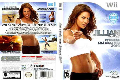 Jillian Michaels Fitness Ultimatum 2010 Wii cover (SJME5G)
