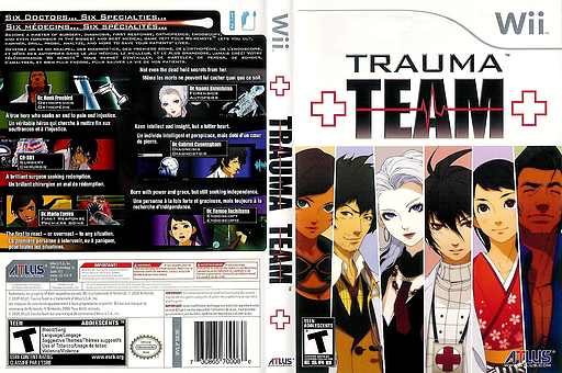 Trauma Team Undub CUSTOM cover (SK3EUD)