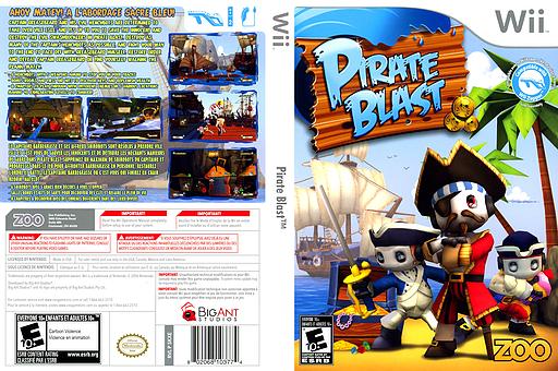 Pirate Blast Wii cover (SKXE20)