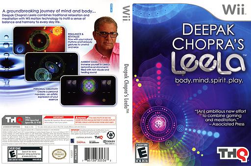 Deepak Chopra's Leela Wii cover (SLEE78)