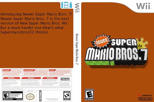 Newer Super Mario Bros. 7 CUSTOM cover (SMNE15)
