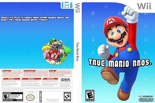 True Mario Bros. CUSTOM cover (SMNE48)