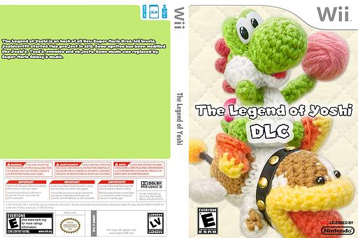 The Legend of Yoshi DLC CUSTOM cover (SMNE68)