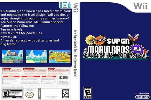 You Super Mario Bros. Me Summer Special CUSTOM cover (SMNEYM)